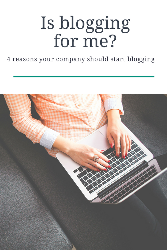4 reasons to blog